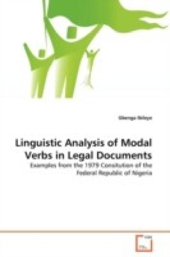 Linguistic Analysis Of Modal Verbs In Legal Documents Buy - Buy legal documents