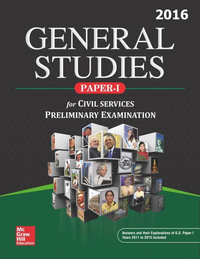 General Studies: Paper - I 2016 1 Edition