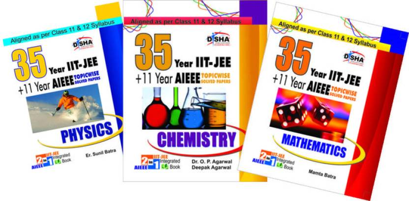 39 Years IIT-JEE Advanced + 15 yrs JEE Main Topic-wise Solved Paper PCM with Free ebook 12th Edition