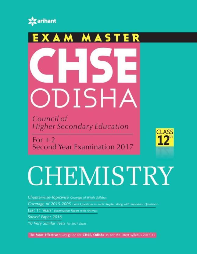 Exam Master CHSE Odisha Chemistry Class 12th: Buy Exam