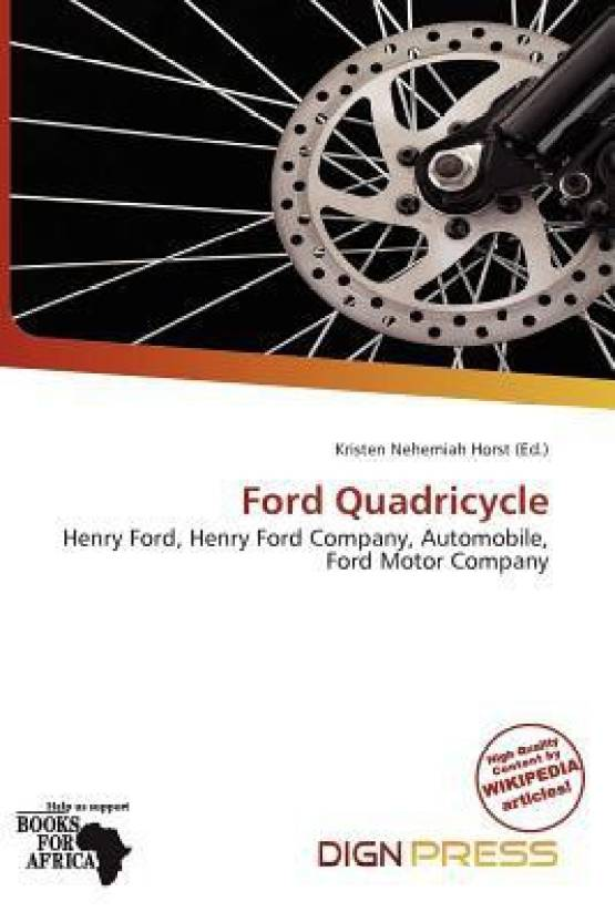 Ford Quadricycle: Buy Ford Quadricycle by Kristen Nehemiah