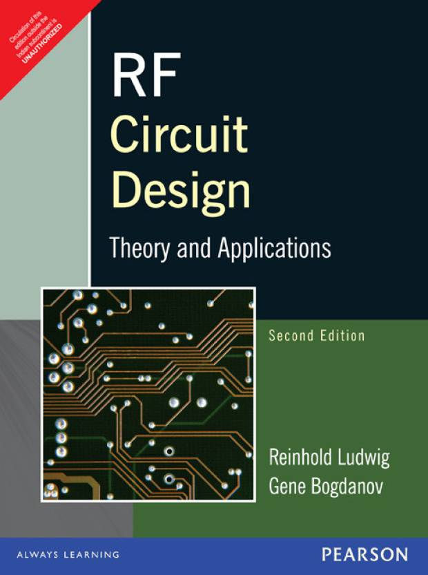 RF Circuit Design : Theory & Applications 2nd Edition: Buy