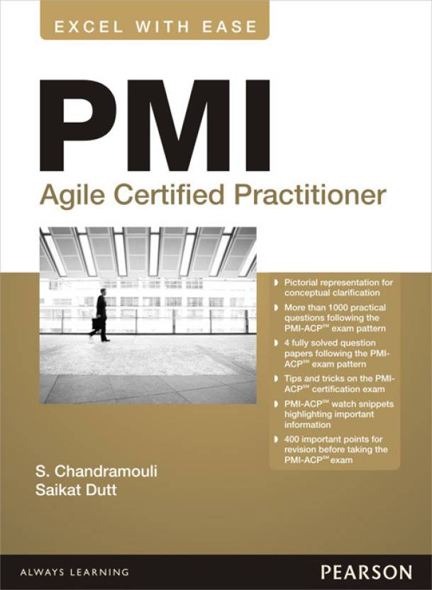 Pmi Agile Certified Practitioner 1st Edition Buy Pmi Agile
