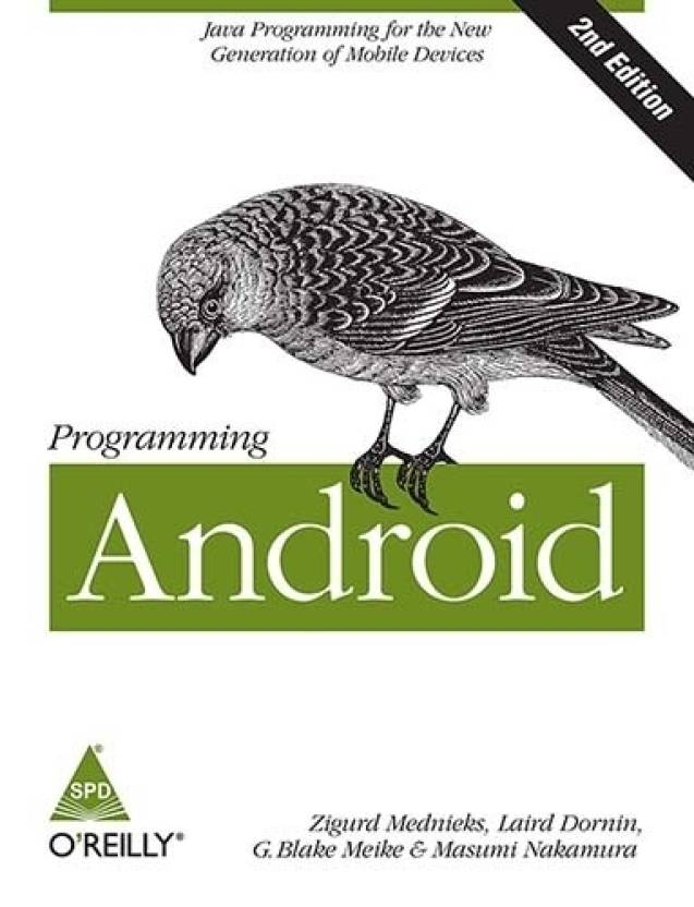 Programming Android : Java Programming for the New