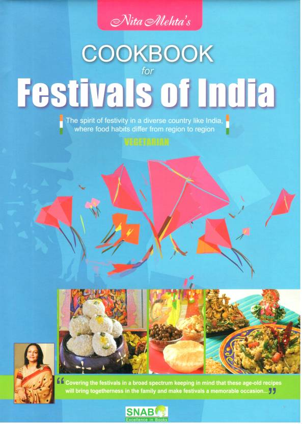 Cook Book For Festivals Of India