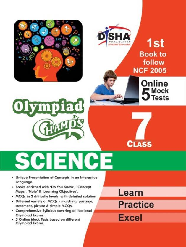 Olympiad Champs Science Class 7 with 5 Mock Online Olympiad