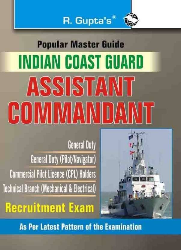 Indian Coast GuardAssistant Commandant Exam Guide
