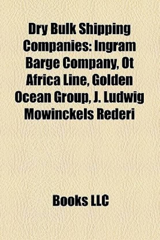 Dry Bulk Shipping Companies: Ingram Barge Company, OT Africa