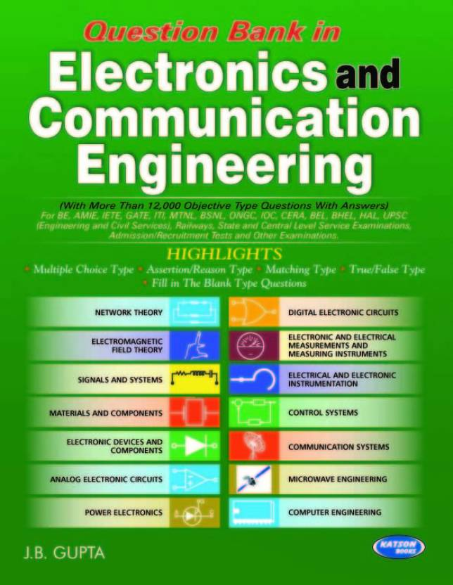 Question Bank in Electronics and Communication Engineering