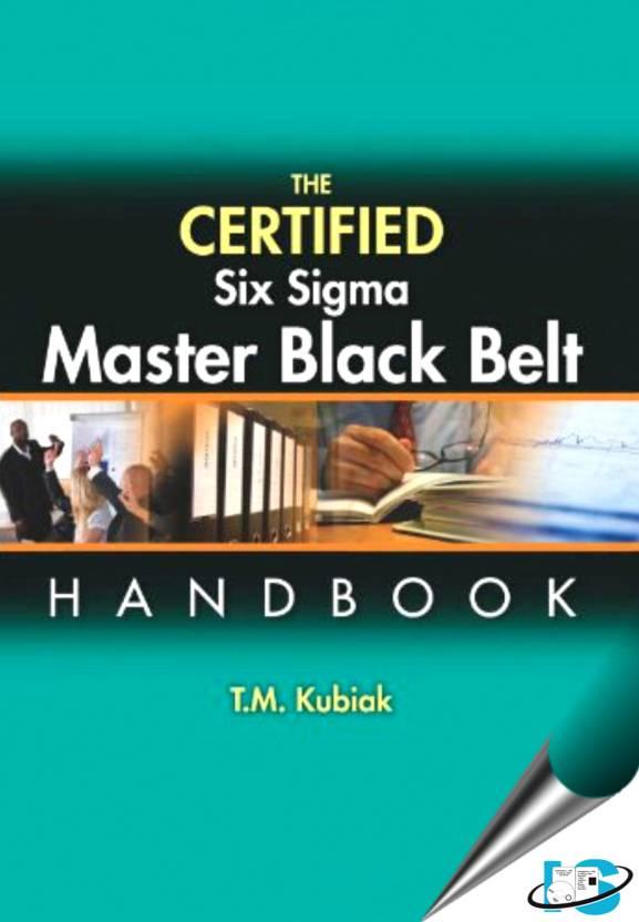The Certified Six Sigma Master Black Belt Handbook With Cd Rom