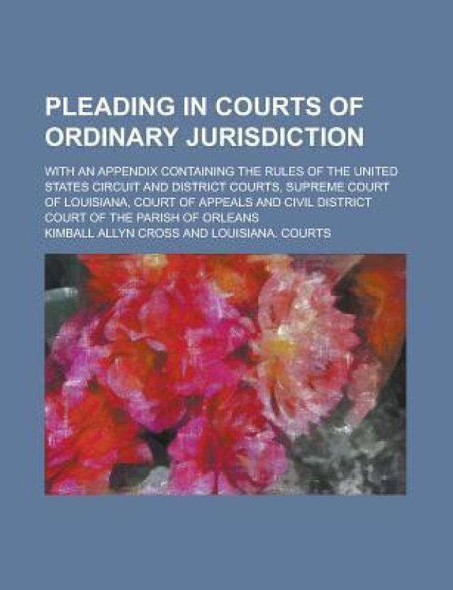 ordinary jurisdiction