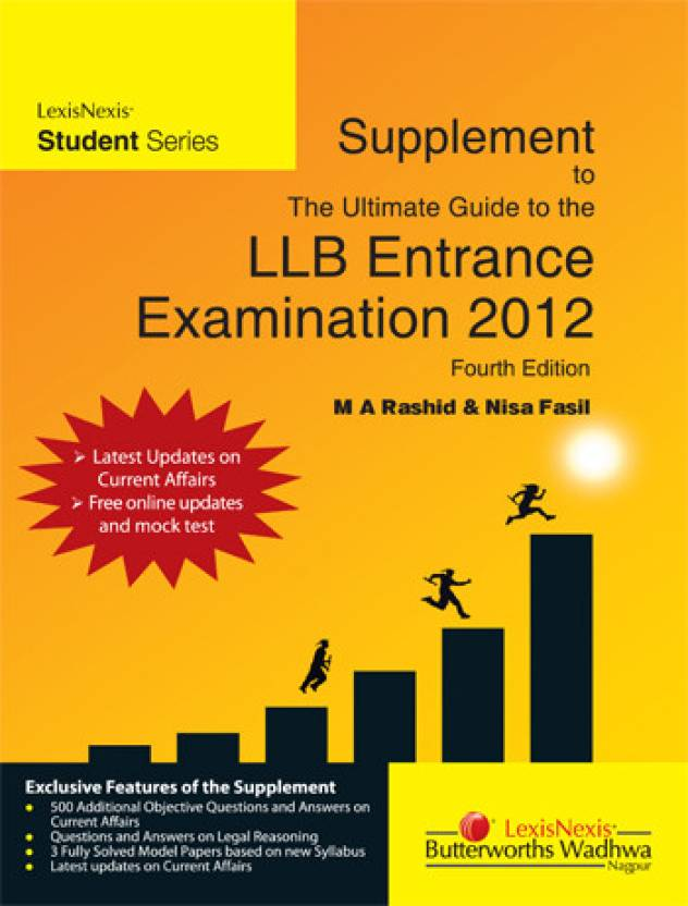 9168f20cf9e The Ultimate Guide to the LLB Entrance Examination 2012 4th Edition