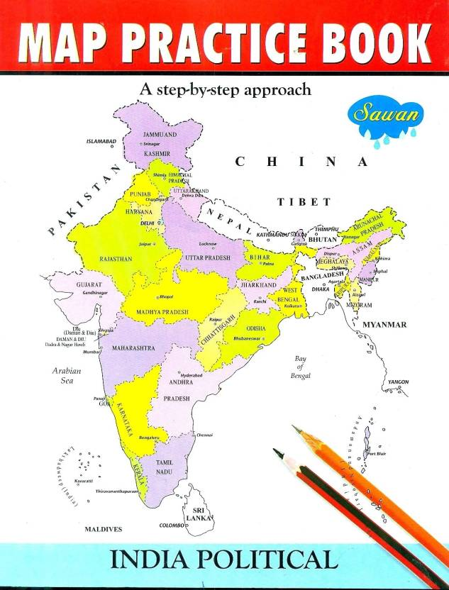 Map practice book india poltical buy map practice book india map practice book india poltical gumiabroncs Choice Image