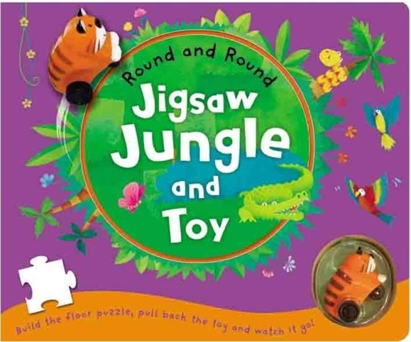Round And Round: Jigsaw Jungle And Toy