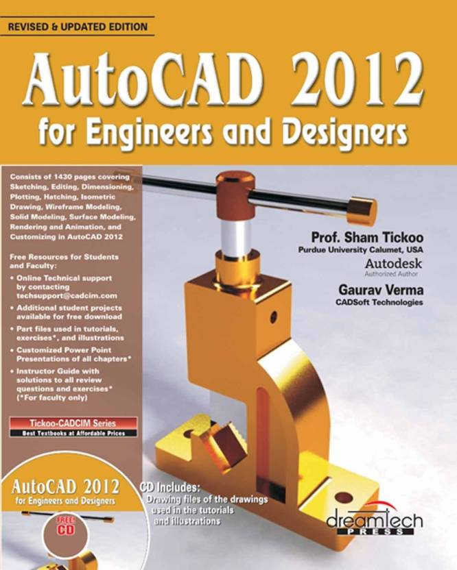 AutoCad 2012 For Engineers And Designers (With CD): Buy