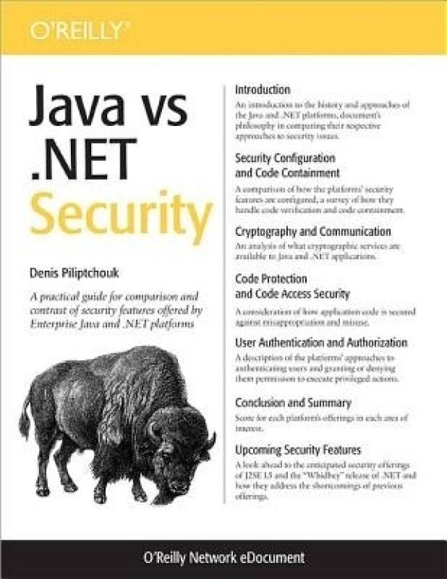 Java Vs  net Security - Pdf: Buy Java Vs  net Security - Pdf