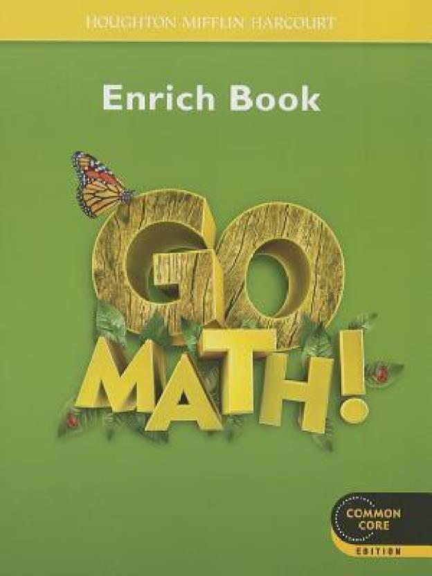 Go Math! Enrich Book, Grade 1: Buy Go Math! Enrich Book