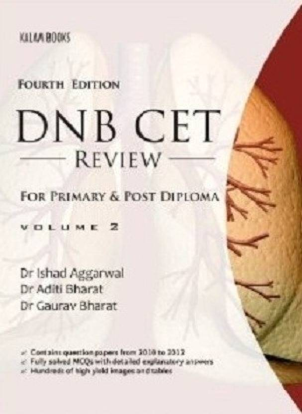 DNB CET Review For Primary & Post Diploma Volume-2 4/e