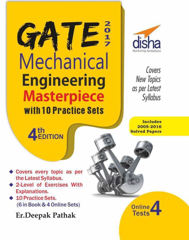 GATE 2017 Mechanical Engineering Masterpiece with 10 Practice Sets (6 in Book + 4 Online) 4th edition 4 Edition