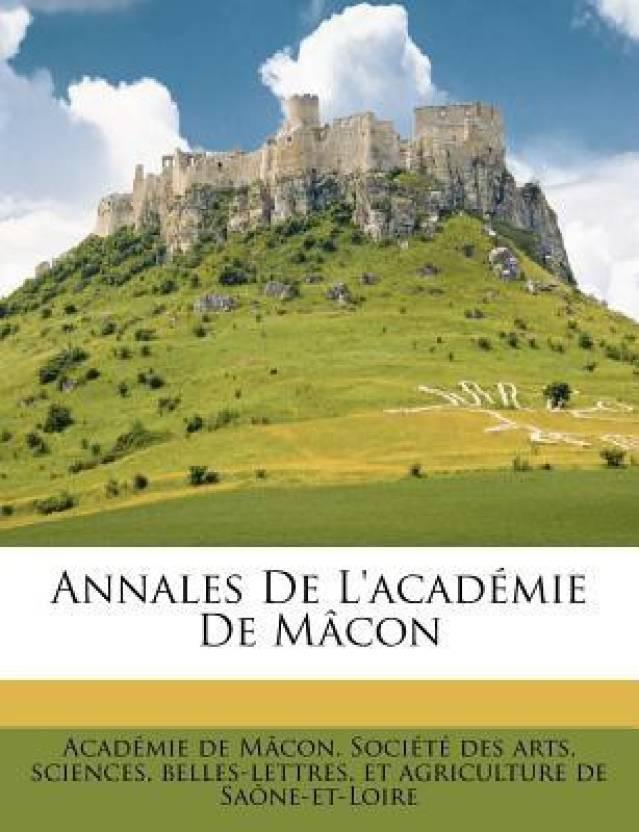 Annales De L'academie De Macon