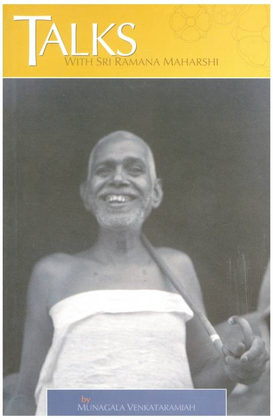 Talks With Sri Ramana Maharshi Buy Talks With Sri Ramana Maharshi