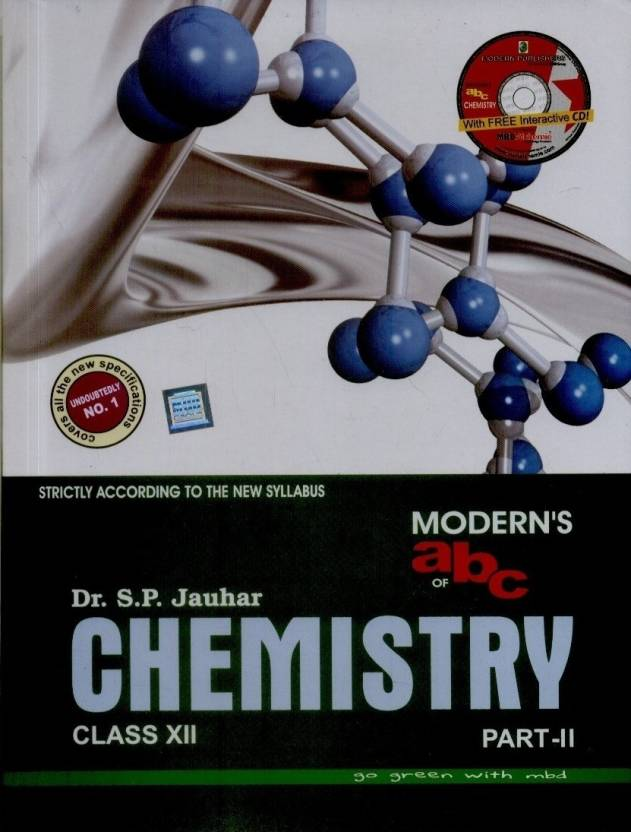 Modern's abc of Chemistry Class - 12 (Part 1 & 2) (With CD): Buy