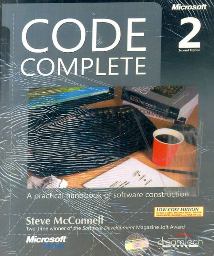 Code Complete: A Practical Handbook Of Software Construction 2nd Edition