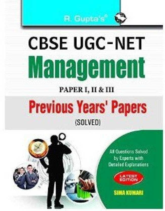 UGC-NETManagement Previous Papers Solved 2018 Edition