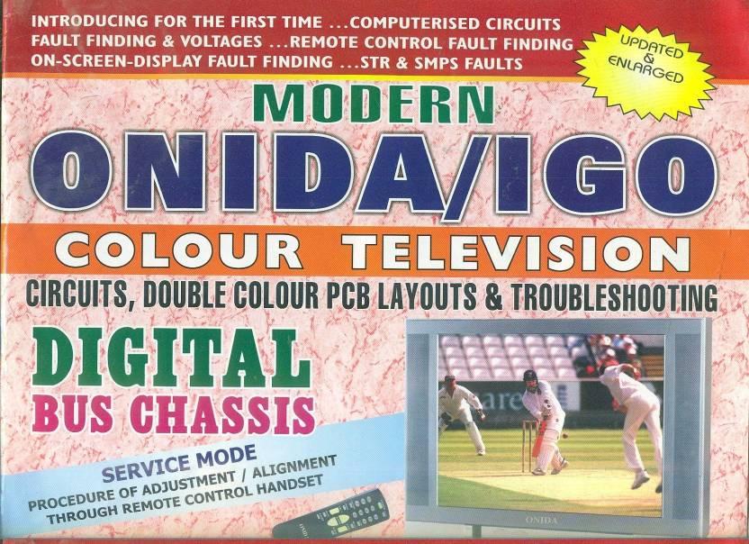 Modern Onida Igo Colour Television Circuits Doublecolour Pcb Layouts