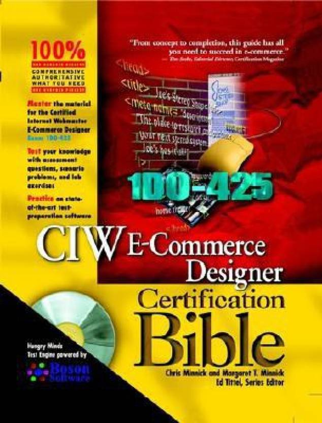 Ciw E Commerce Designer Certification Bible With Cdrom Buy Ciw E