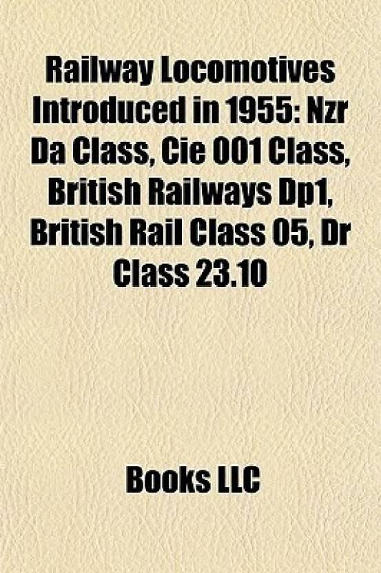 Railway Locomotives Introduced in 1955: Nzr Da Class, Cie 001 Class