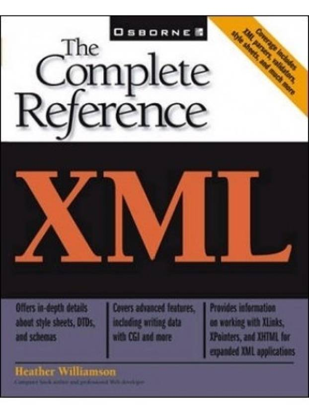 xml the complete reference the complete reference 1st edition