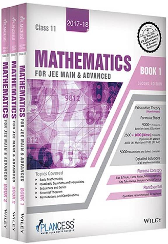Study Material Mathematics for JEE Main and Advanced : Class