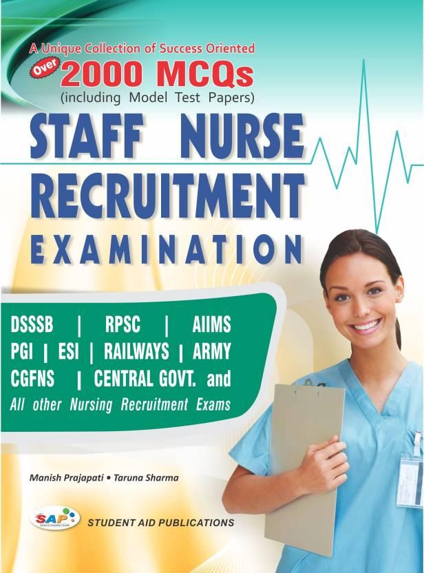 Guide to Staff Nurse Recruitment Exam: Buy Guide to Staff Nurse