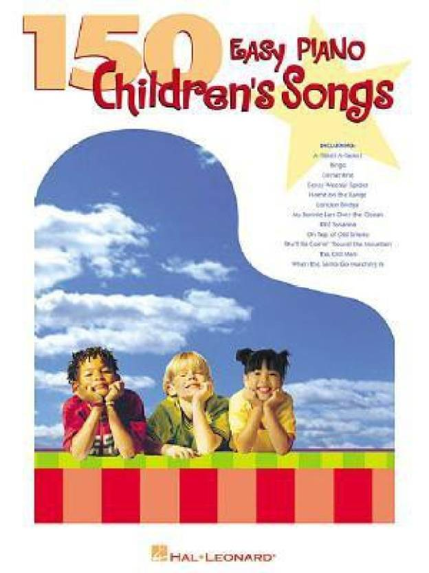 150 Easy Piano Children's Songs (Easy Piano (Hal Leonard)): Buy 150