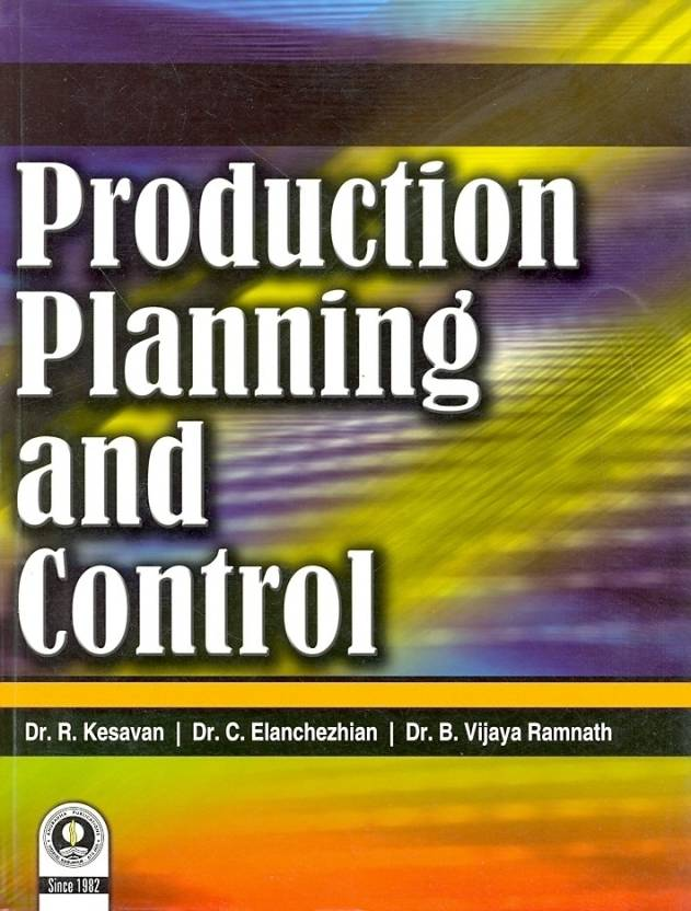 Production planning and control book