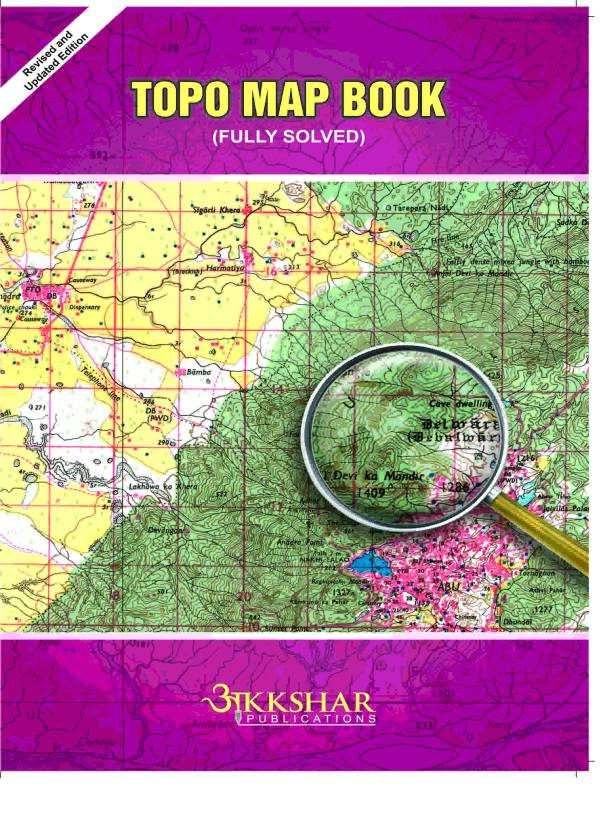 TOPO MAP BOOK FULLY SOLVED: Buy TOPO MAP BOOK FULLY SOLVED