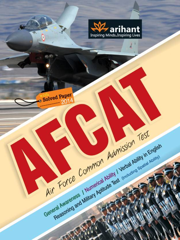 AFCAT Air Force Common Admission Test With Solved Paper ...