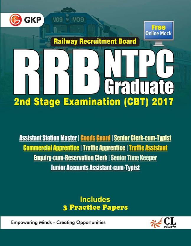 RRB NTPC 2nd Stage Examination 2017 (Guide)