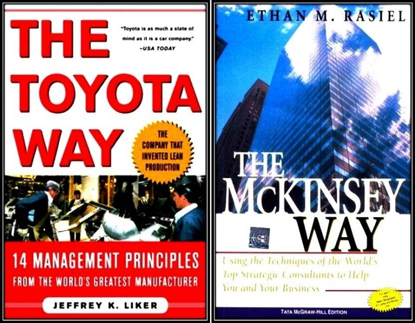 The Toyota Way / The McKinsey Way (Set of 2 Books)