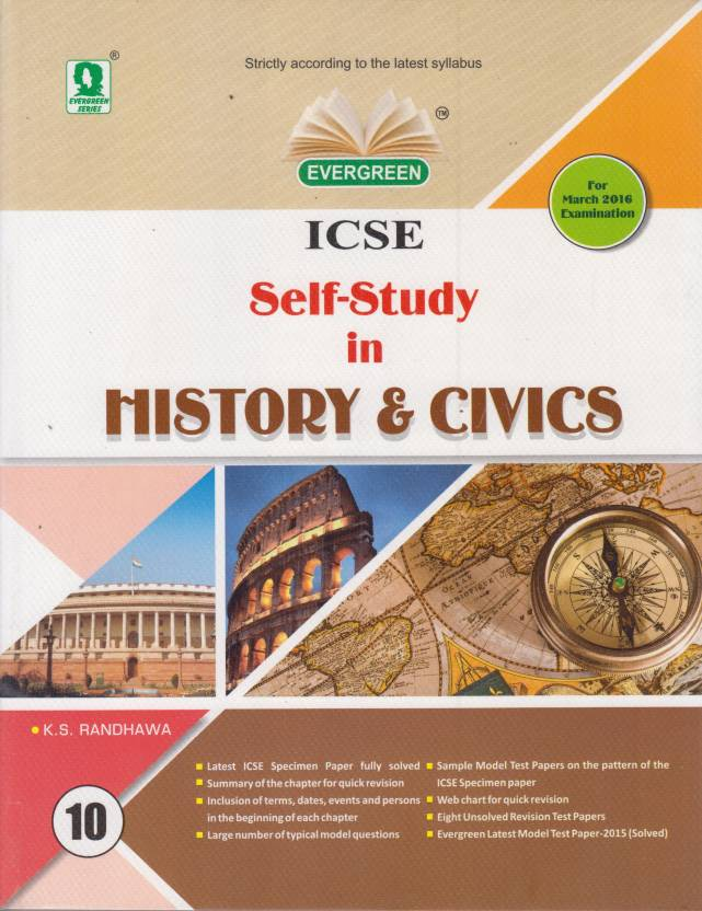 ICSE SelfStudy in History & Civics Class10 1 Edition