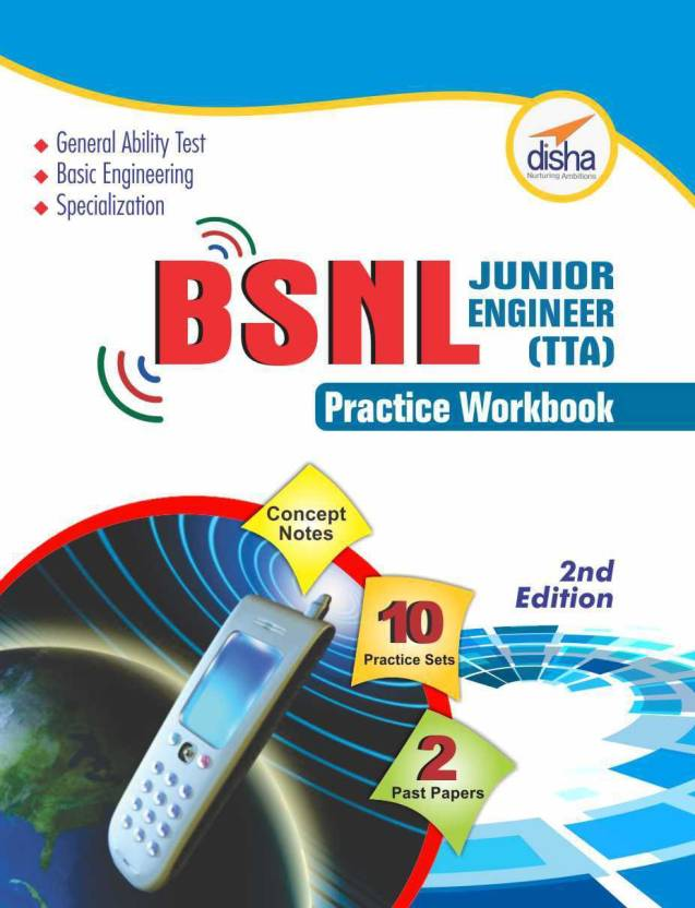 BSNL TTA Exam Guide + Practice Workbook (Concept Notes + 2 Solved + 10 Practice Sets) 2nd Edition 2 Edition