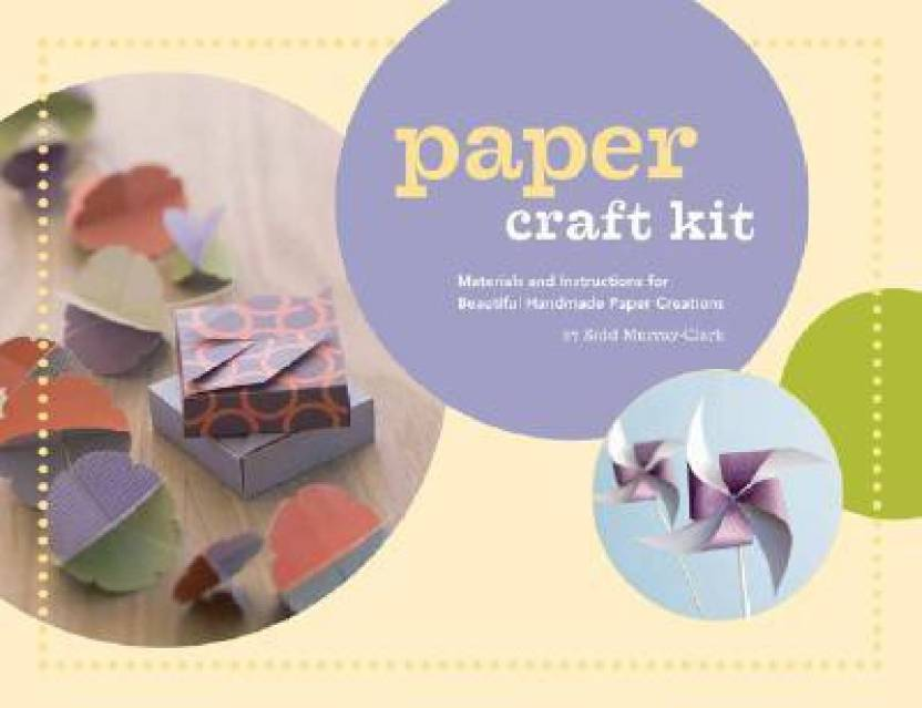 Paper Craft Kit Materials And Instructions For Beautiful Handmade