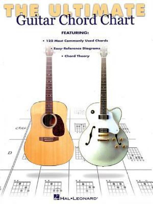 The Ultimate Guitar Chord Chart Buy The Ultimate Guitar Chord Chart
