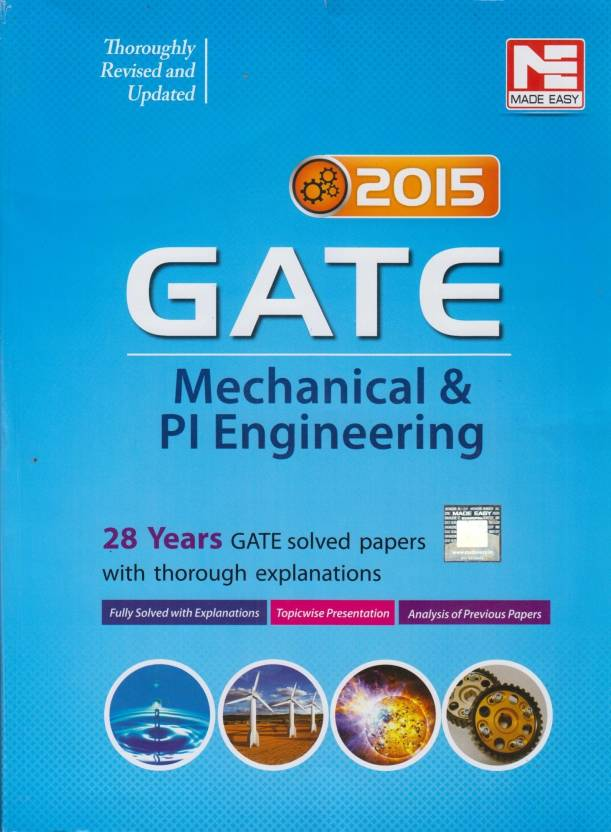 GATE - Mechanical   PI Engineering 2015   28 Years GATE Solved Papers with  thorough Explanations 1st Edition (English ef510671ac49