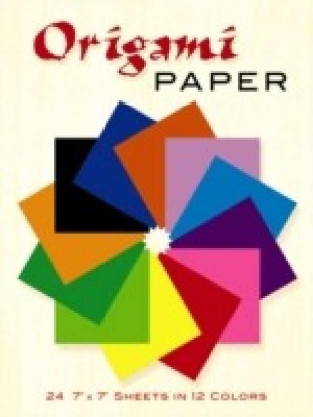 Origami Paper: 24 7 x 7 Sheets in 12 Colors price comparison at Flipkart, Amazon, Crossword, Uread, Bookadda, Landmark, Homeshop18