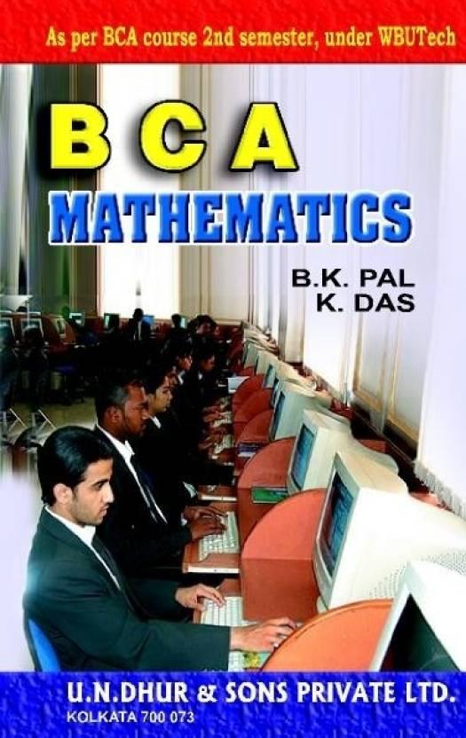 BCA Mathematics (Volume II): Buy BCA Mathematics (Volume II) by