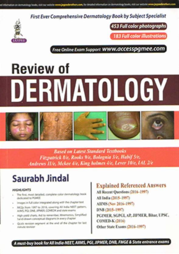 REVIEW OF DERMATOLOGY: Buy REVIEW OF DERMATOLOGY by SAURABH