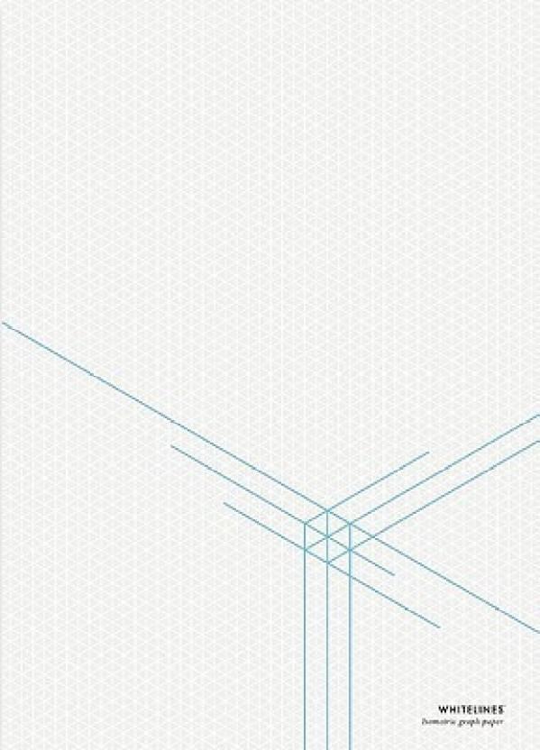 whitelines orange glue a4 3 d dimension isometric graph paper buy