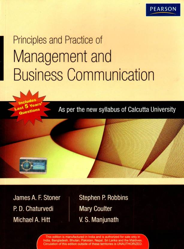 Principles and Practice of Management & Business Communication